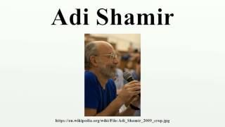 Adi Shamir