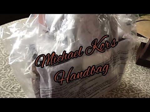 Unboxing Michael Kors Nouveau Hamilton Small Satchel