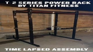 series power rack by titan fitness