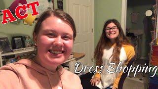 VLOGMAS Day 8: ACT & Dress Shopping w/ Gracie!!