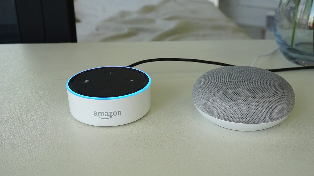 Image result for Google Home Mini VS Amazon Echo Dot. Which One Is Better?