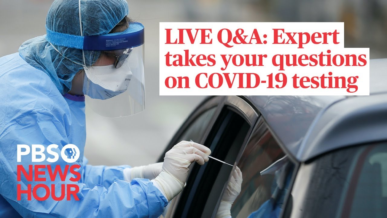 Expert takes your questions on COVID-19 testing
