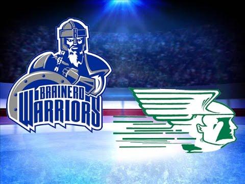 Brainerd/Little Falls Girls Hockey Loses To Grand Rapids/Greenway