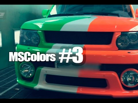 MSColors : Episode #3 (Покраска в три цвета + тест автолаков)