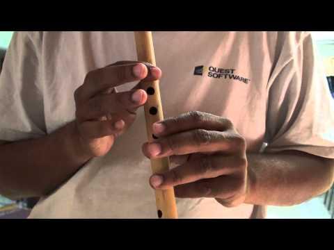 "zindagi ke safar mein guzar jate hain jo makam hindi song on flute - ""Travails with my flute"""