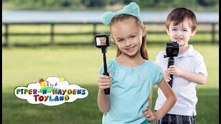 Piper-N-Hayden | Vlogging Daddy working at a family photoshoot.