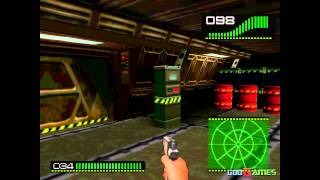 Alien Trilogy - Gameplay PSX (PS One) HD 720P (Playstation classics)