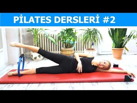 Tüm Vücudu Sıkılaştıran 50 Dakika Pilates Egzersizi 2. Bölüm