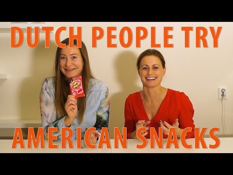 Dutch People Try American Snack Food