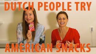 Dutch People Try American Snack Food