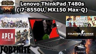 Lenovo ThinkPad T480s i7-8550U 16GB DDR4 1TB SSD Intel HD