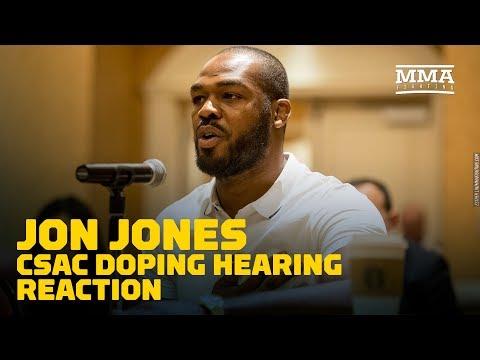 What's Next? Jon Jones CSAC Doping Hearing Reaction - MMA Fighting