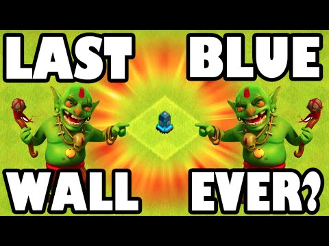 Clash of Clans - THE LAST LVL 11 WALL!