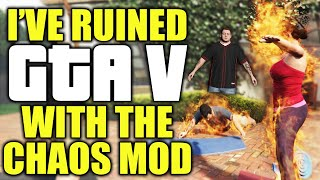 I've ruined GTA V with the chaos mod