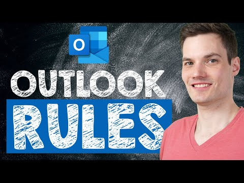 📨 How to create Microsoft Outlook Rules - Tutorial