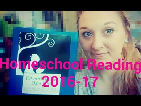 Homeschool Reading Curriculum 2016-17: 3rd and 5th Grade