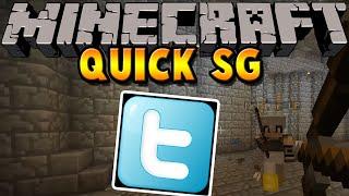 TWITTER | Minecraft QUICK SURVIVAL GAMES | baastiZockt