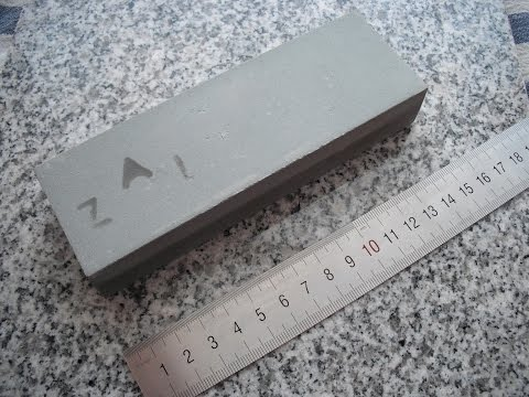 Silicon carbide / carborundum sharpening stone made by  ZAI - Berkovitsa