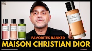 Top 15 Maison Christian Dior Fragrances | Favorite Dior Privee Collection Perfumes