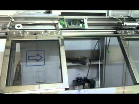 Puerta corredera de apertura autom tica con arduino for Motor puerta automatica