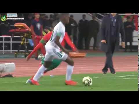 Adama ba Vs Hakim Ziyech  - Morocco vs Mauritania 0-0