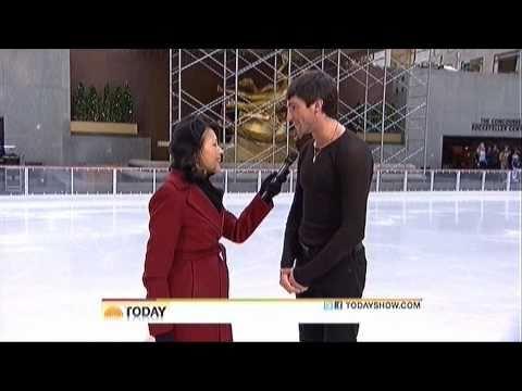 Evan Lysacek - Today Show (11/12/10)
