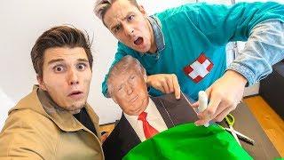 Wir OPERIEREN Donald im UFO