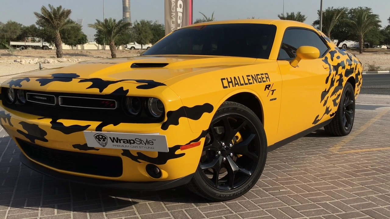 Dodge Challenger R T Full Wrap Design Youtube