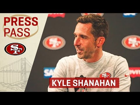 Kyle Shanahan Dedicates Victory To Tony York | San Francisco 49ers