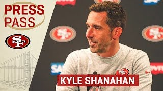 Kyle Shanahan Dedicates Victory to Tony York | San Francisco 49ers