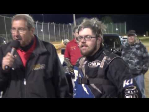 Lincoln Speedway 358 Sprint Car Victory Lane 05-14-16