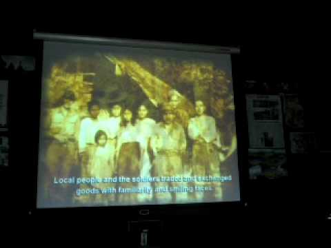 Movie show in Thailand Khun Yuam World War II Museum