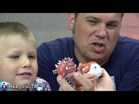 HobbyKids Play De-Formers Video Game and Sumo Boppers