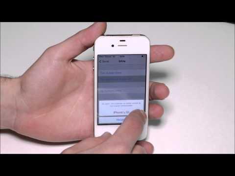 Apple iPhone 4'e Nasıl Format Atılır?