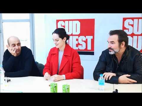 Noémie Merlant et Jean Dujardin parlent de la préparation de leurs rôles