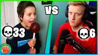 13 Jarige vs Tfue... Dit Verwacht Je Niet!!