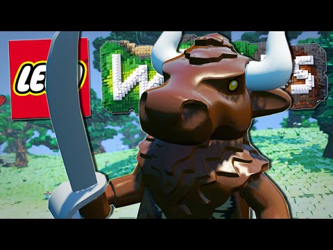 Lego Worlds | THE CHOCOLATE MINOTAUR!! [#8]