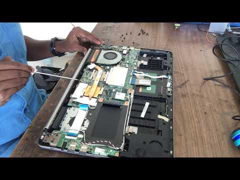 Asus K501U Gaming Laptop Disassembly