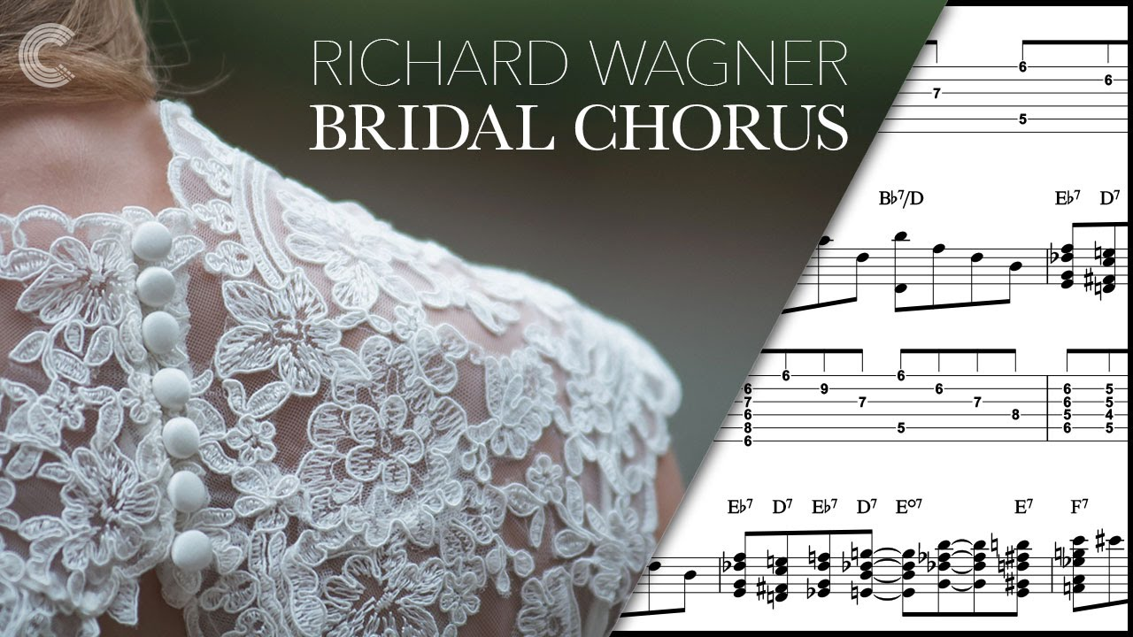 Guitar Here Comes The Bride Richard Wagner Sheet Music Chords