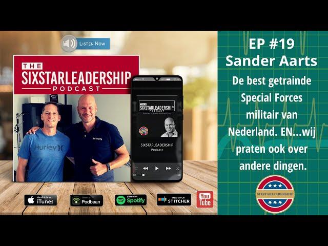 Sander Aarts, (ex)-Special Forces over leiderschap, meditatie, spiritualiteit, Unbreakable Academy