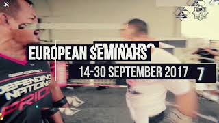 Ajarn Gae European Seminars 2017