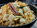 Chudwa Spicy Indian Chex Mix Snack Recipe Food Flipped EP 36