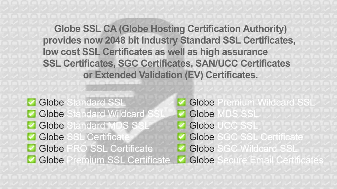 Globe ssl services youtube globe ssl services xflitez Choice Image