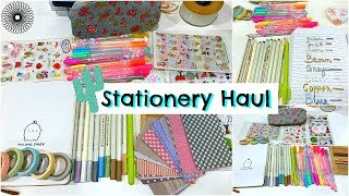 Cheap Stationery Haul - Pens, Markers, Stickers, Washi tape