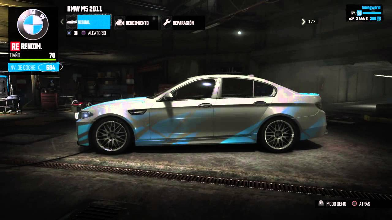 The Crew BMW M5 2011 CUSTOMISATION PERFORMANCE  YouTube