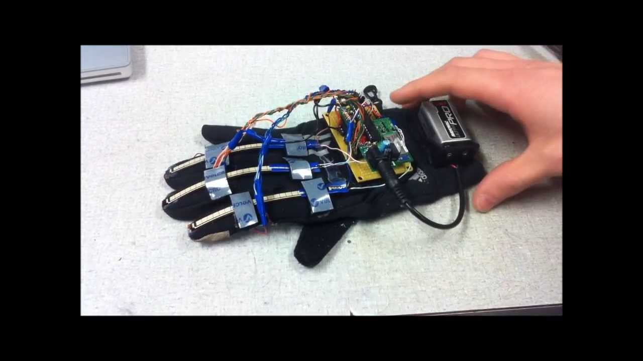 Haptic Interface for Electronic Musical Performance - YouTube
