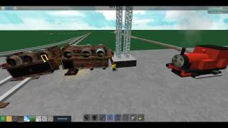 Roblox Thomas and Friends Making Custom Trains