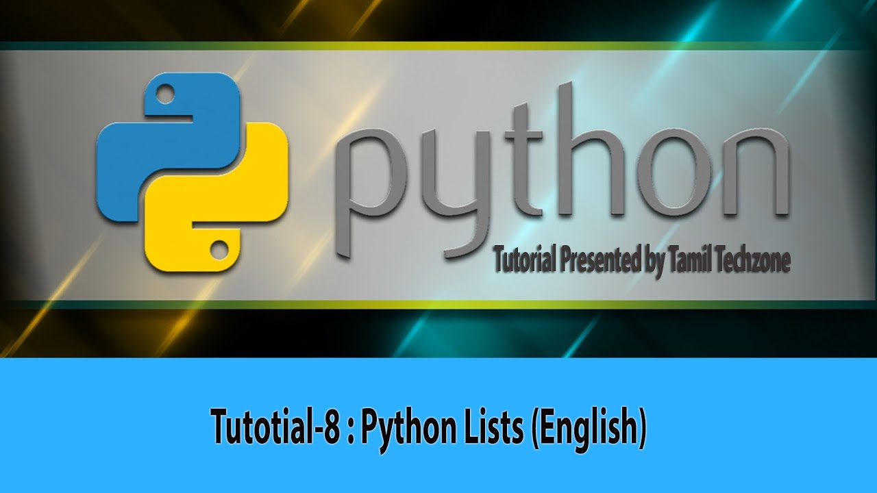 Python Tutorial for Beginners 8 Python Lists (English) Anna