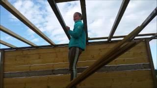 Construction des box pour les chevaux ! PARTIE 1