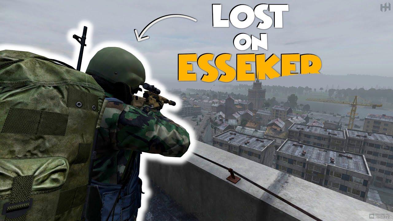 DayZ - Lost On ESSEKER....... AGAIN!